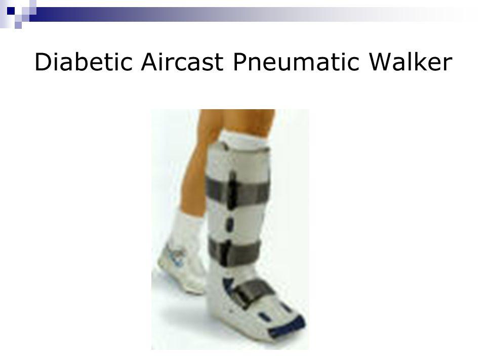 Diabetic Aircast Pneumatic Walker