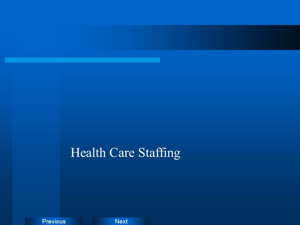 NextPrevious Health Care Staffing