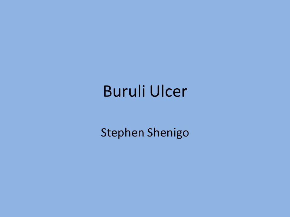 Buruli Ulcer Stephen Shenigo