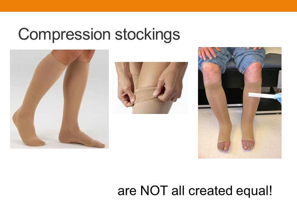 Compression stockings are NOT all created equal!