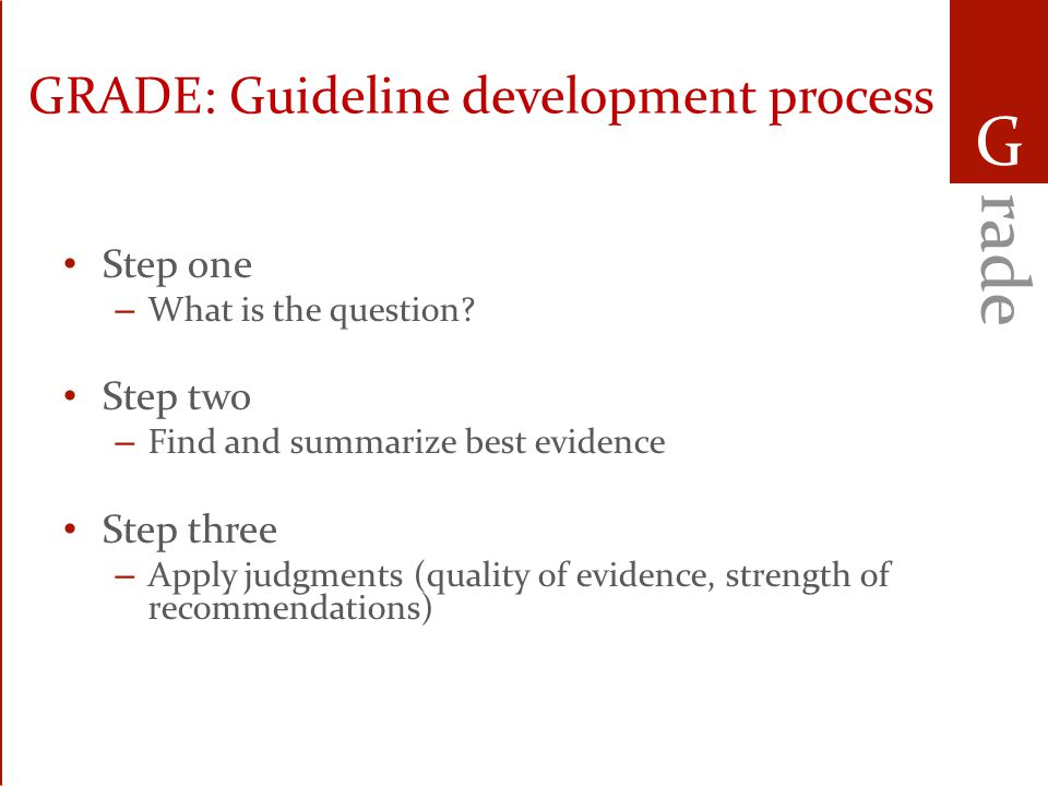 PAD guidelines