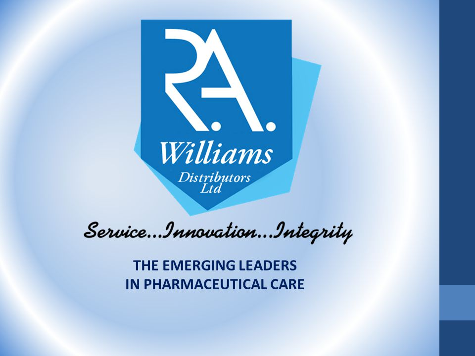 THE EMERGING LEADERS IN PHARMACEUTICAL CARE