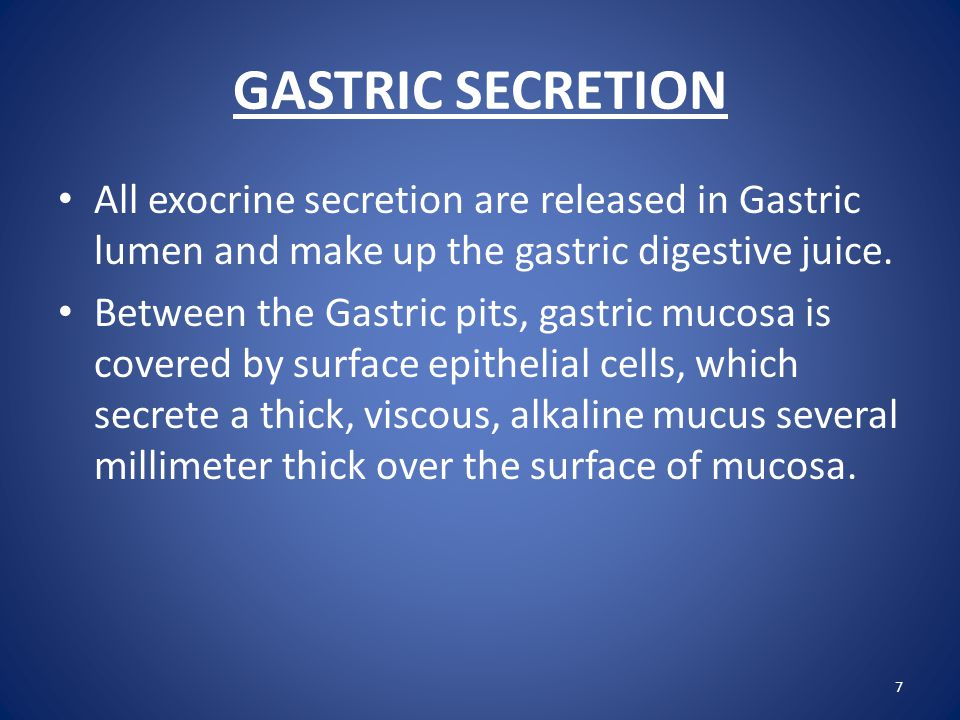 Functions of Gastric Juice  Intrinsic Factor It is secreted by parietal cells.