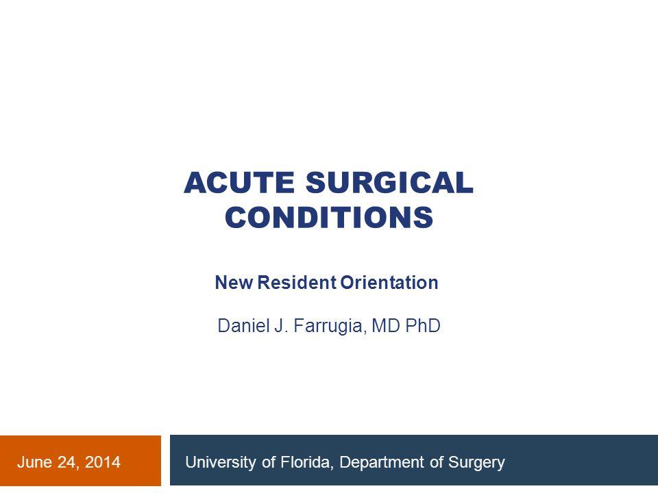 Pediatric Surgery Appendicitis Gastroschisis / Omphalocele Malrotation / mid-gut volvulus Intussusception Pyloric Stenosis Necrotizing Enterocolitis