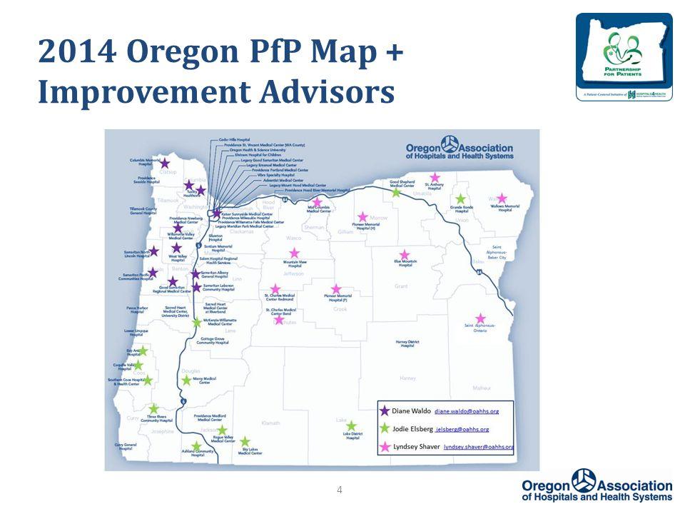 2014 Oregon PfP Map + Improvement Advisors 4