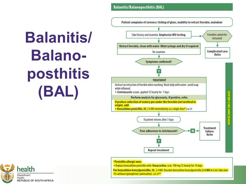 Balanitis/ Balano- posthitis (BAL)