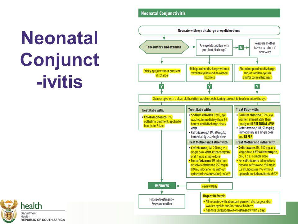 Neonatal Conjunct -ivitis