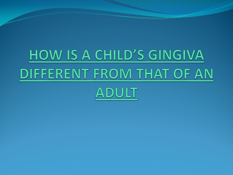  GINGIVAL DISEASES ASSOCIATED WITH THE ENDOCRINE SYSTEM  Puberty gingivitis is a distinctive type of gingivitis that occasionally develops in children in the prepubertal and pubertal period.