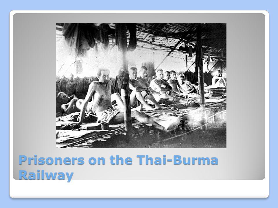 Prisoners on the Thai-Burma Railway
