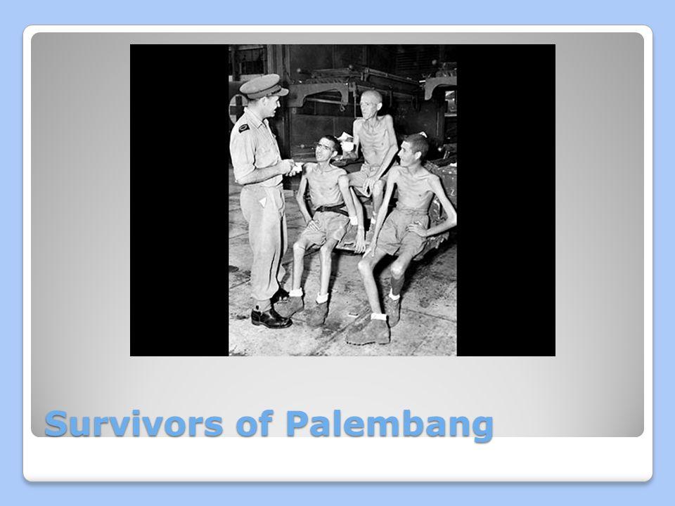 Survivors of Palembang
