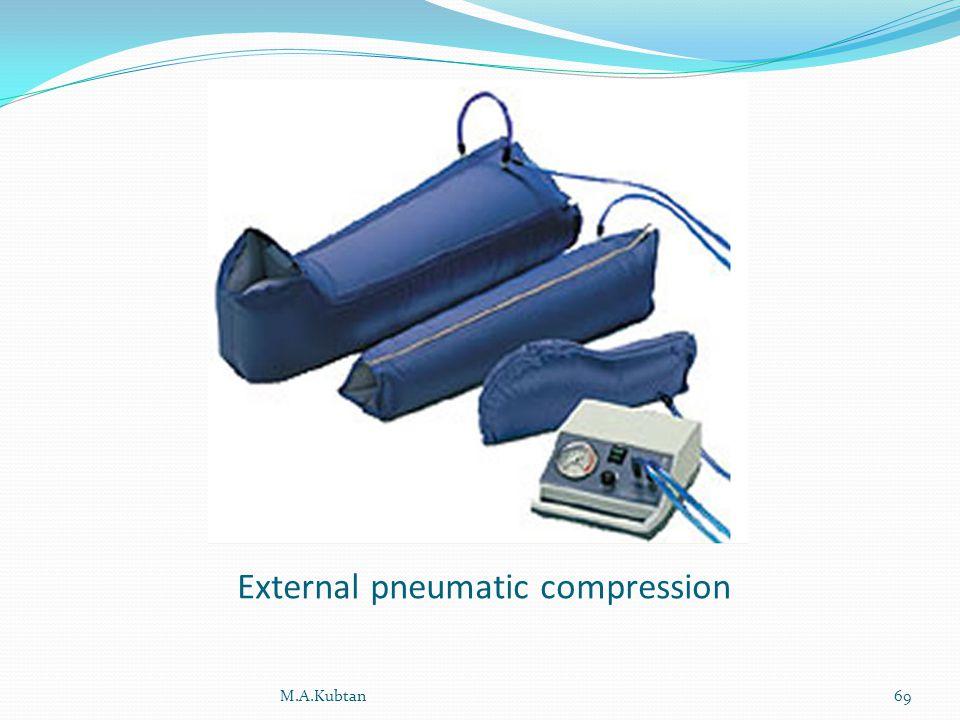 External pneumatic compression M.A.Kubtan69