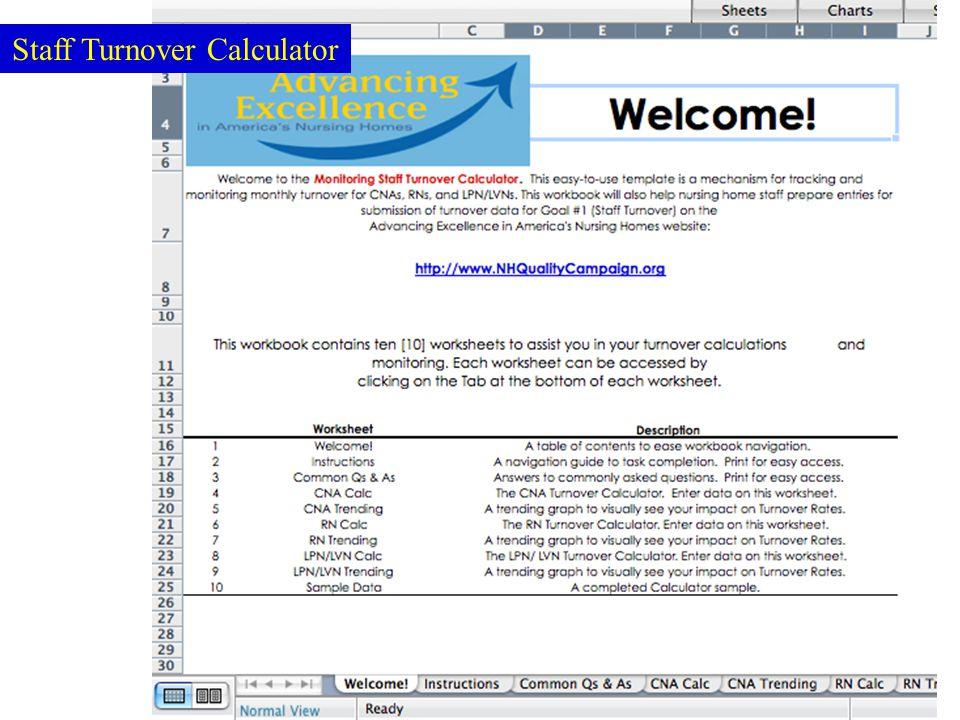 57 Staff Turnover Calculator