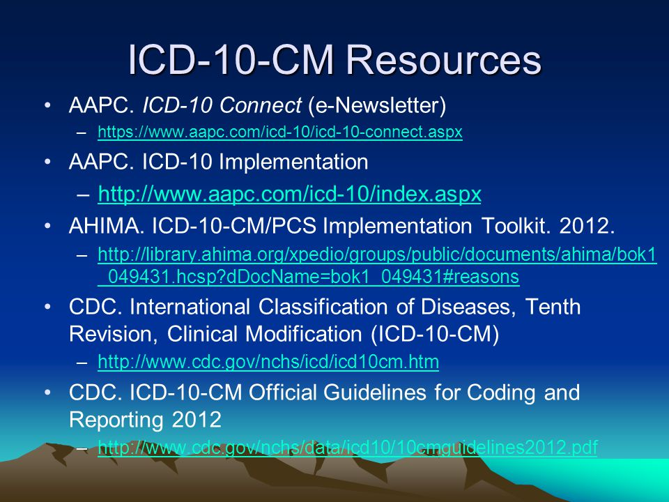 ICD-10-CM Resources AAPC.