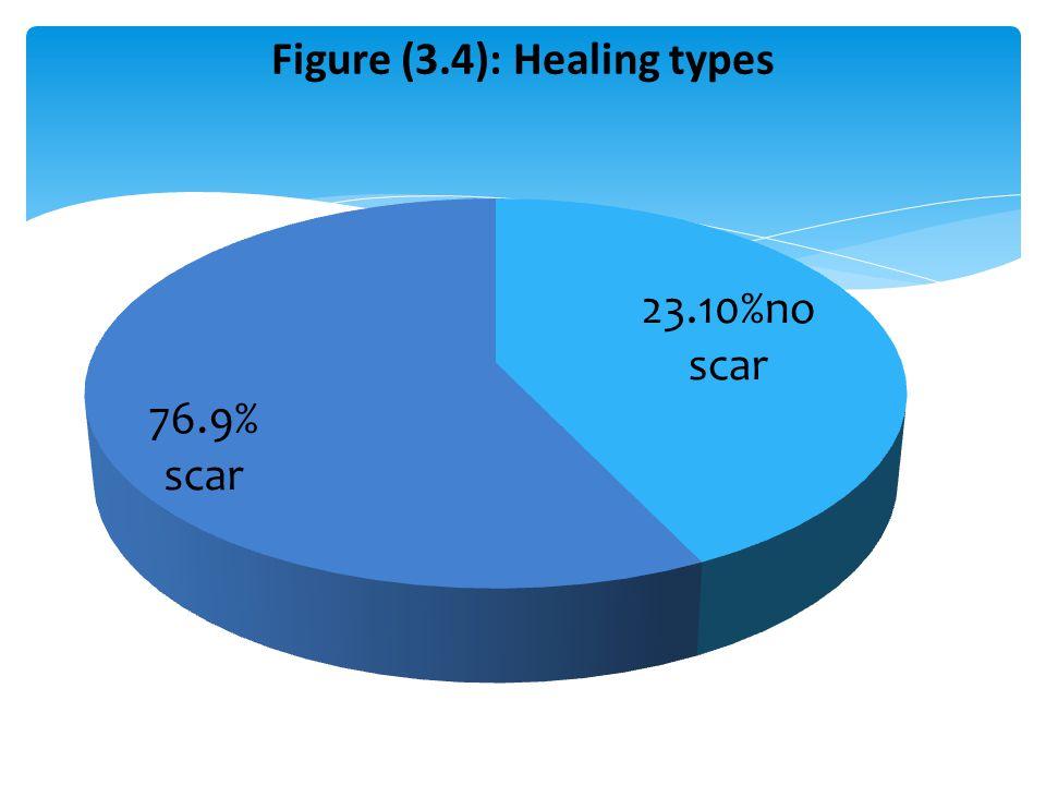Figure (3.4): Healing types