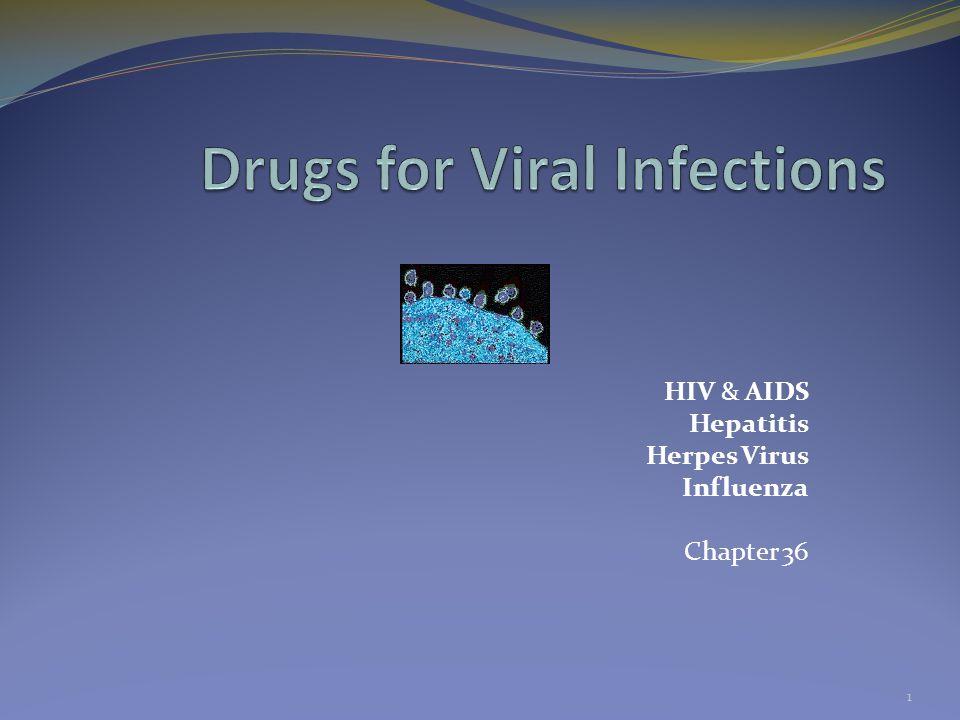 HIV & AIDS Hepatitis Herpes Virus Influenza Chapter 36 1
