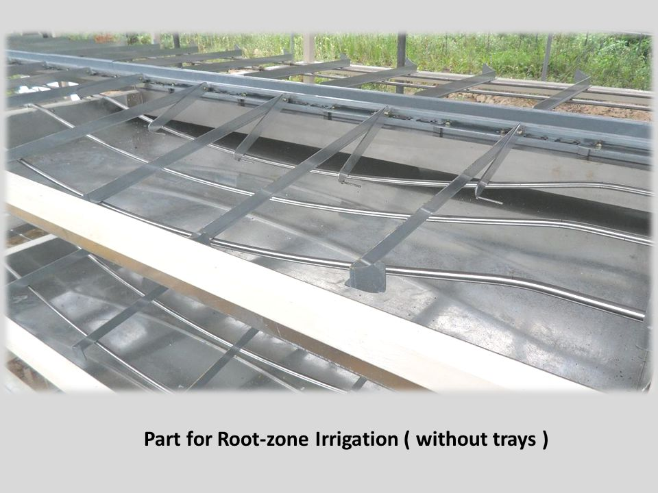 Part for Root-zone Irrigation ( without trays )