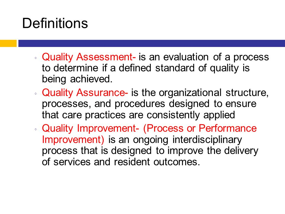5 Elements of QAPI Systematic Analysis and Systemic action  Root cause analysis  Systems thinking  Systematic changes as needed