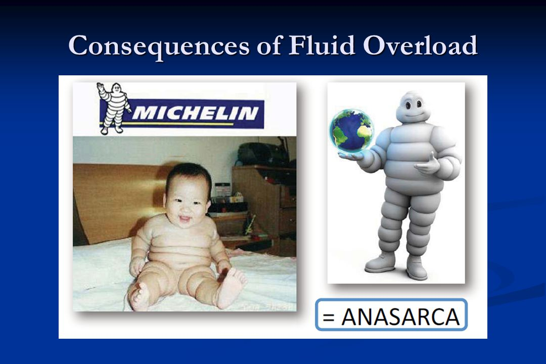 Consequences of Fluid Overload