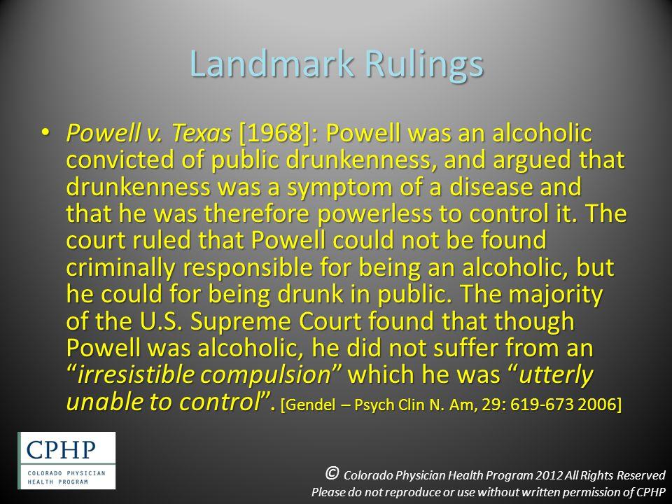 Landmark Rulings Powell v.