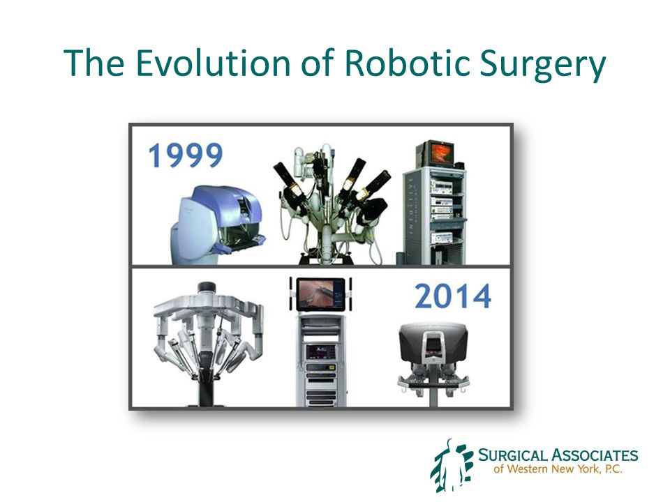 The Evolution of Robotic Surgery