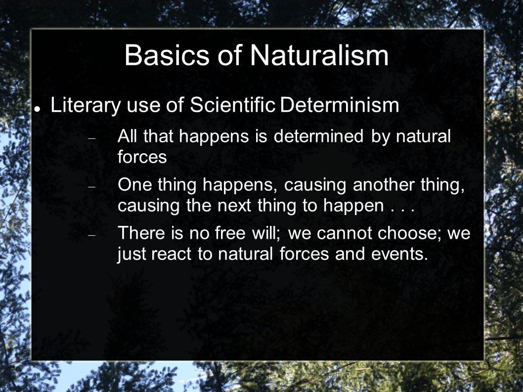 Scientific Determinism Writing Slide  Scientific Determinism