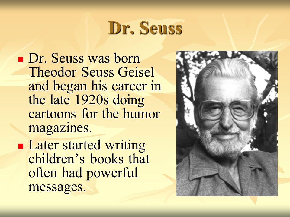 Dr. Seuss Dr.