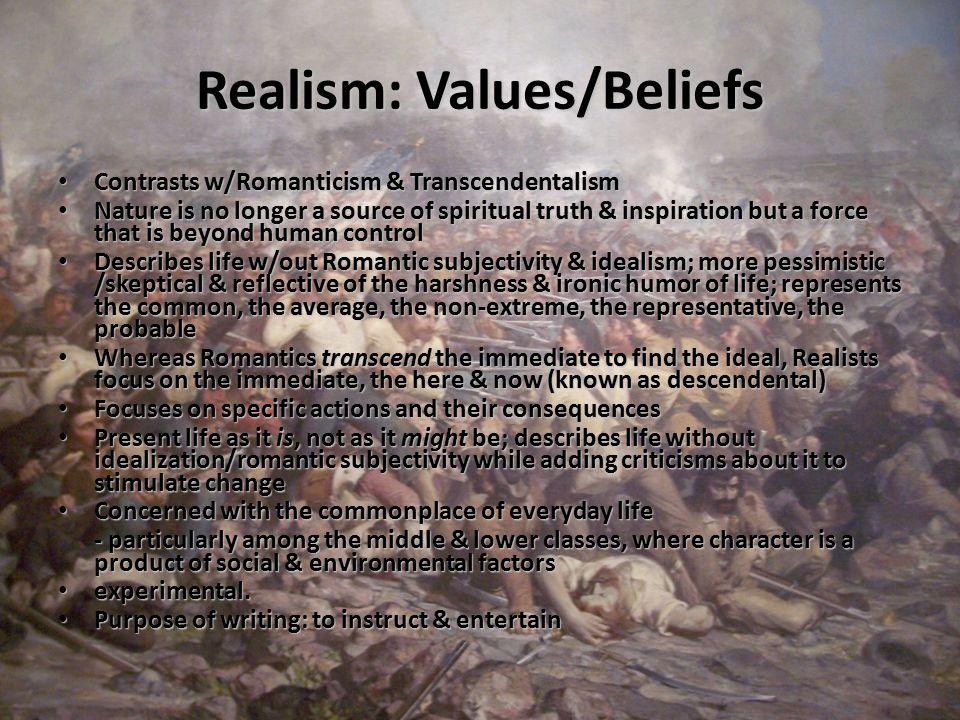 Values/Beliefs, Cont.