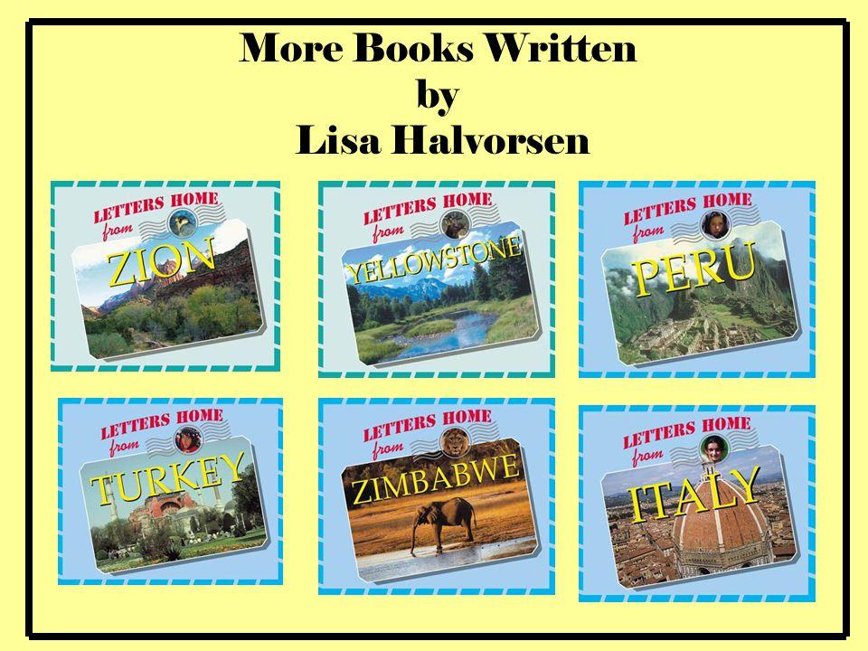 More Books Written by Lisa Halvorsen