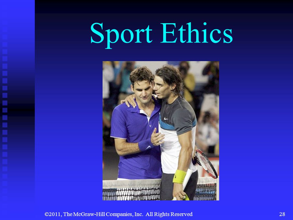 ©2011, The McGraw-Hill Companies, Inc. All Rights Reserved28 Sport Ethics
