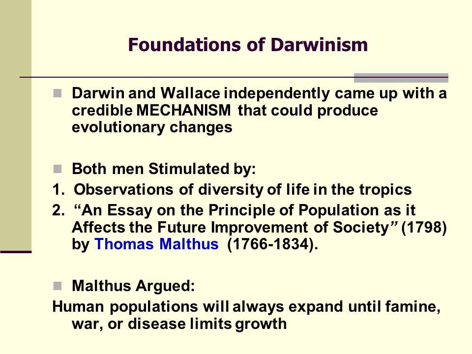 Charles Darwin (1809-1882) & Alfred Wallace (1823-1913) British Naturalists
