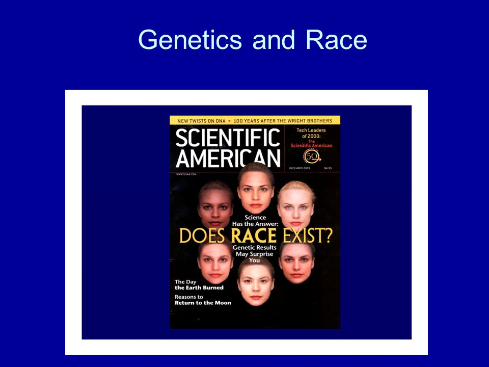 Genetics and Race