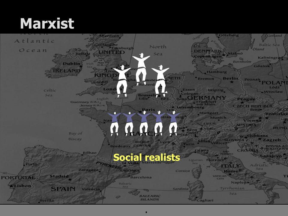 . Marxist Social realists