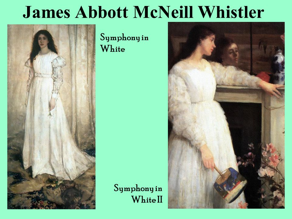 James Abbott McNeill Whistler Symphony in White Symphony in White II
