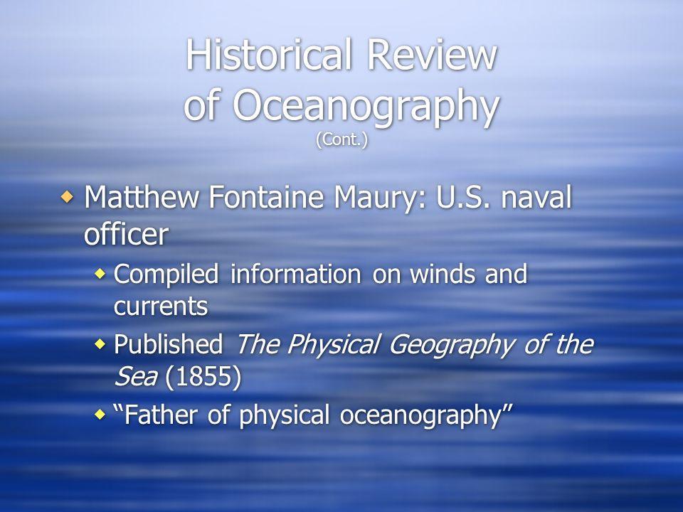  Matthew Fontaine Maury: U.S.