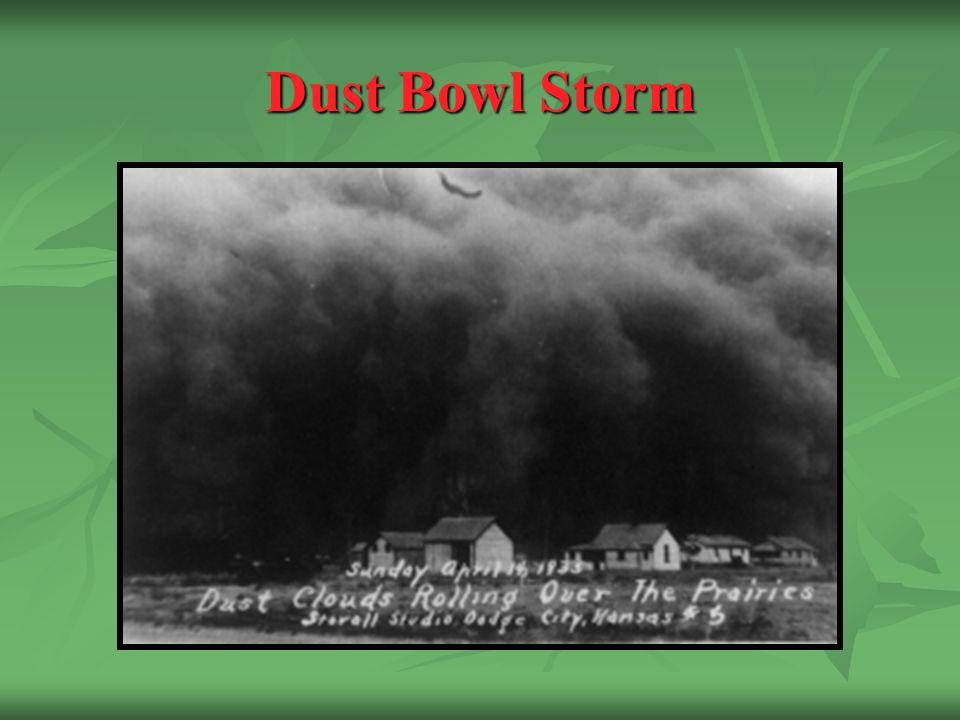 Dust Bowl Storm