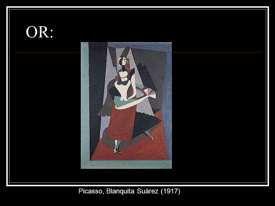 OR: Picasso, Blanquita Suárez (1917)