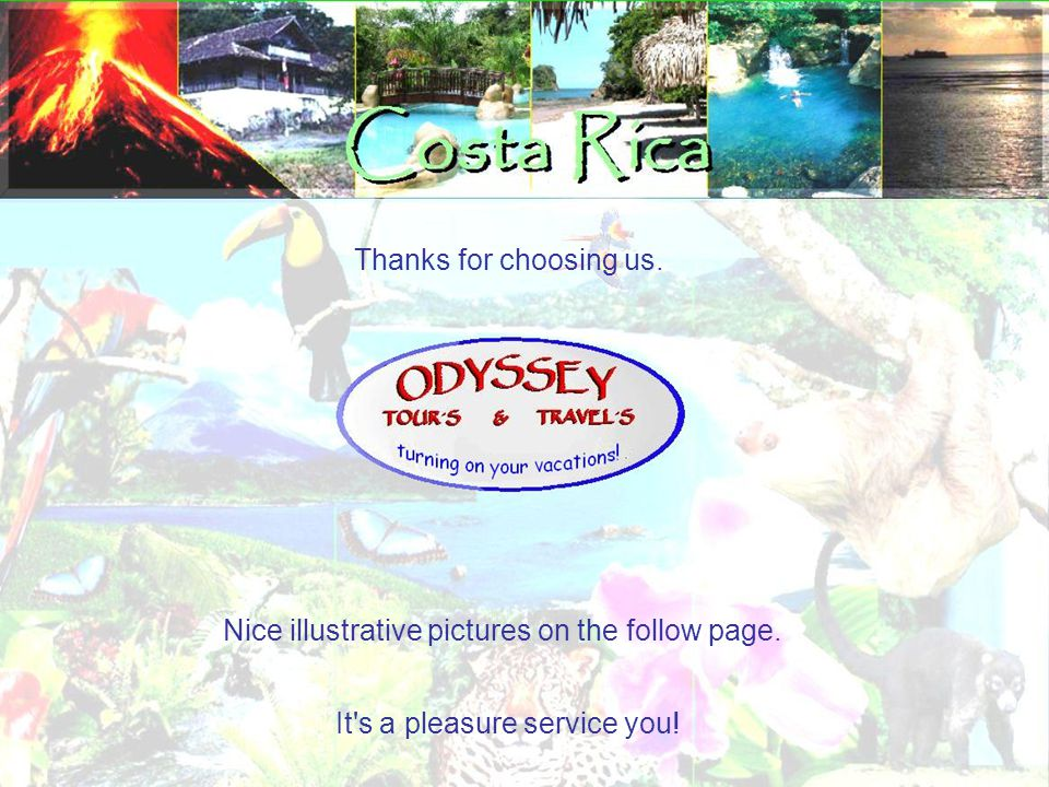 Thanks for choosing us. It s a pleasure service you! Nice illustrative pictures on the follow page.