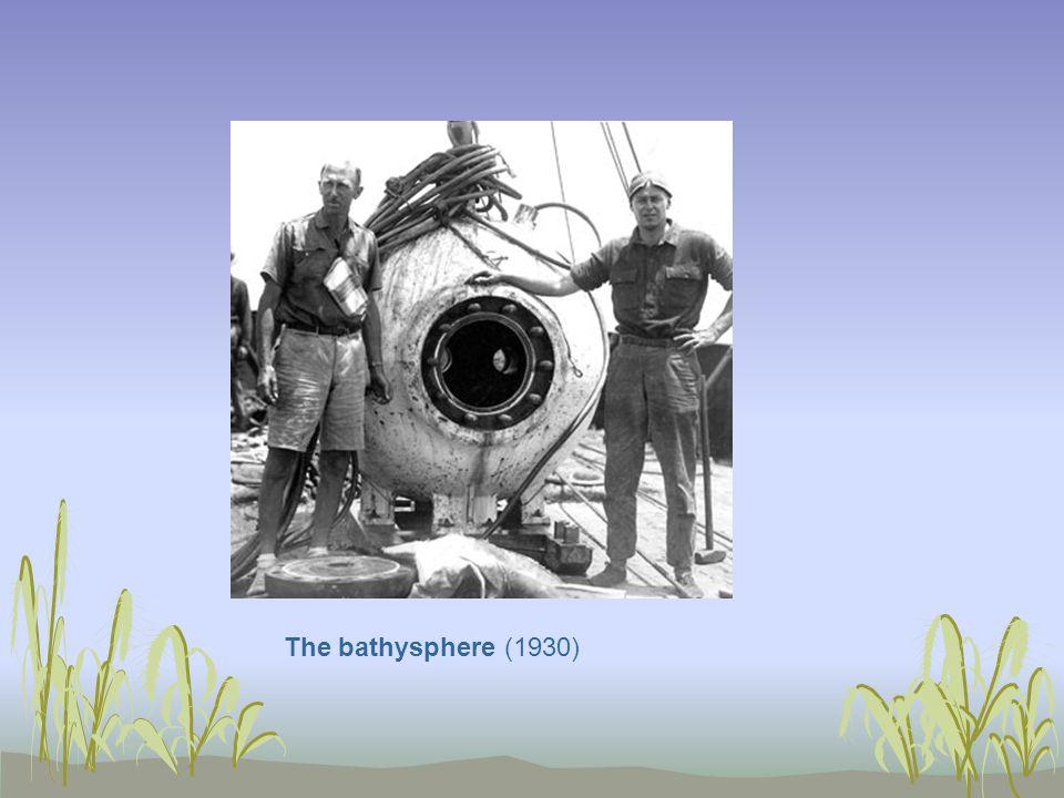 The bathysphere (1930)