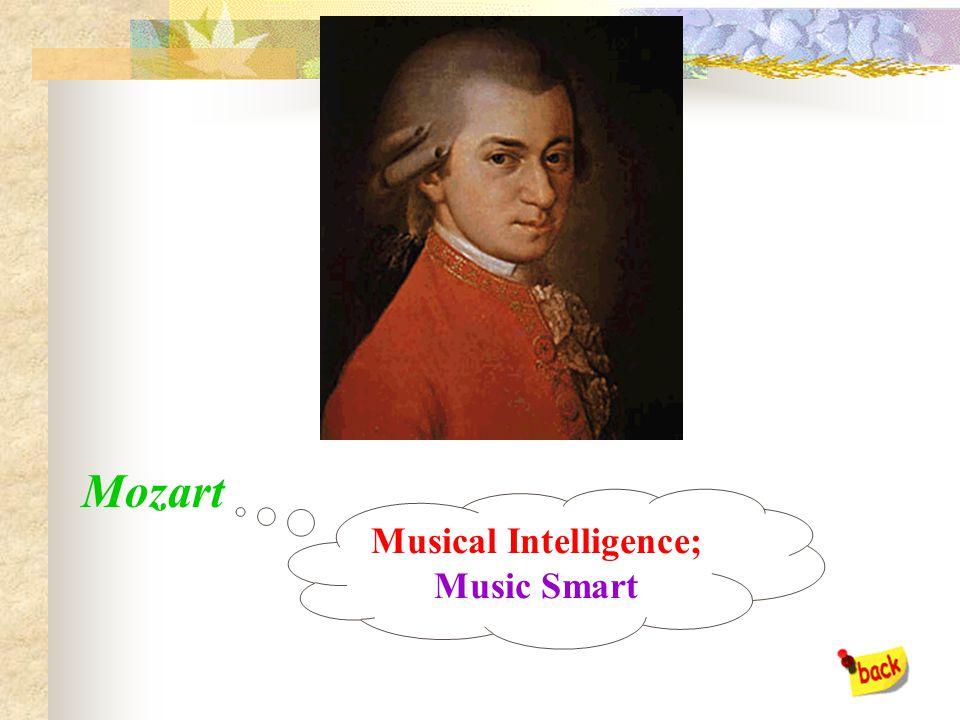 Einstein Logical/Mathematical Intelligence; Number Smart Excellent!