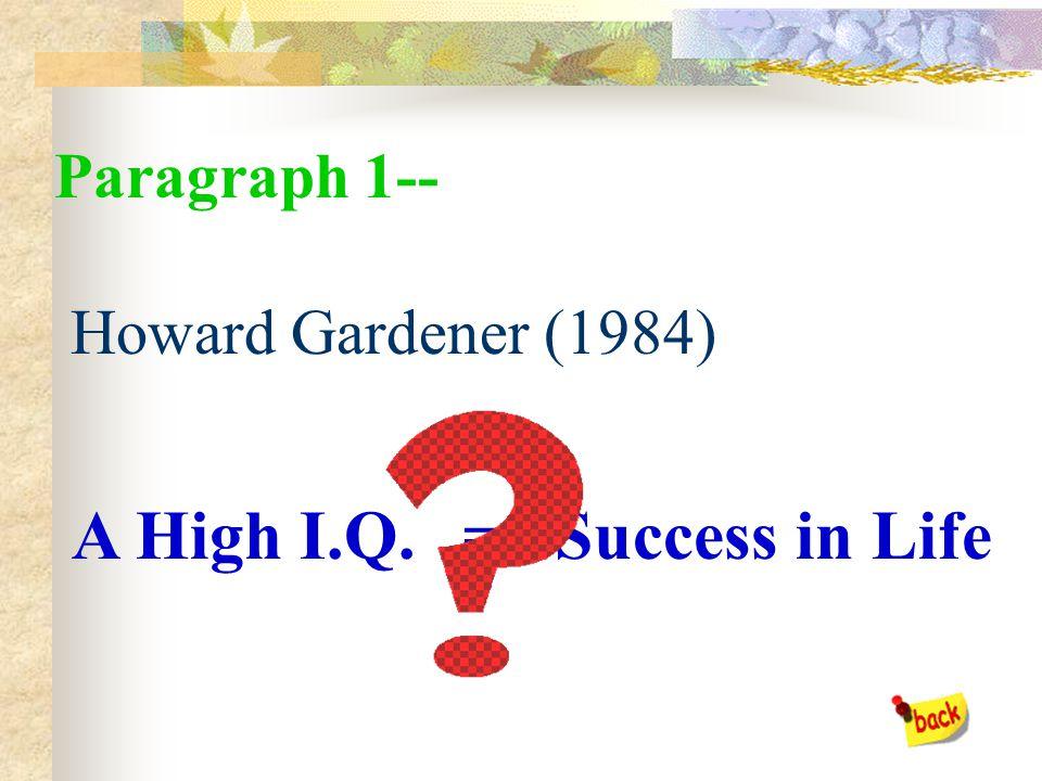 Introduction-- Body-- End-- Paragraph 1 Paragraph 2 Paragraph 3 Paragraph 4 Paragraph 5 Paragraph 6 Paragraph 7 Paragraph 8
