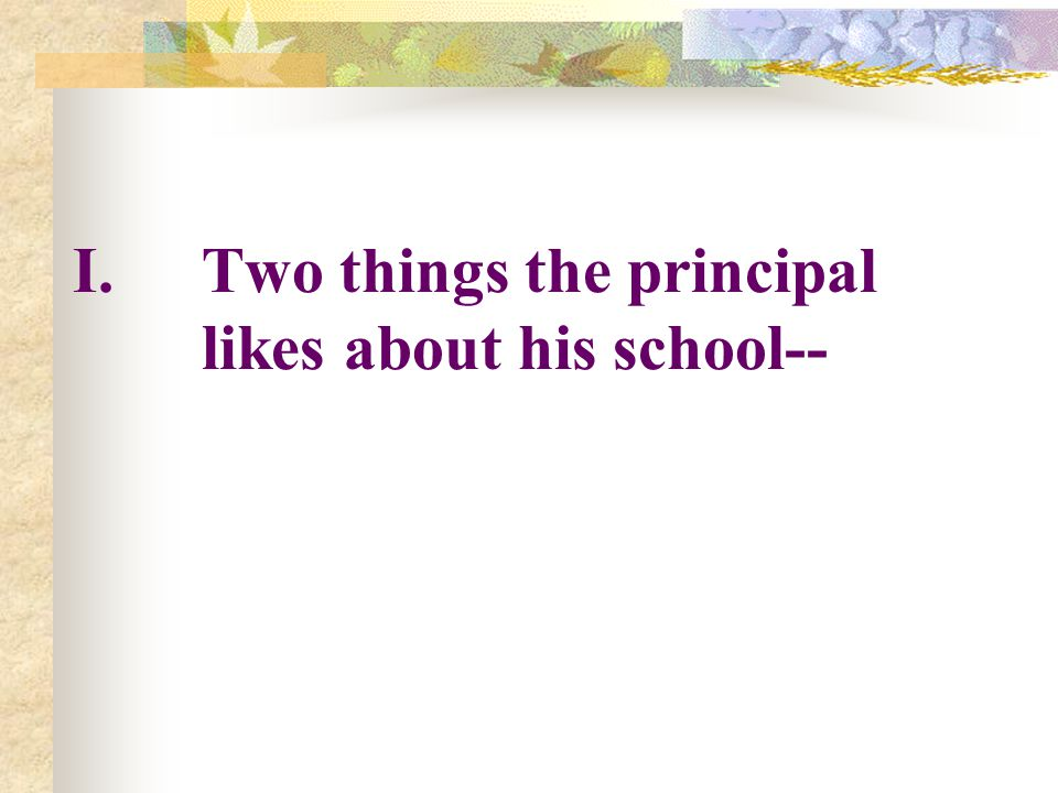 Supplementary Reading Material: Multiple Intelligence: A Principal's Perspective