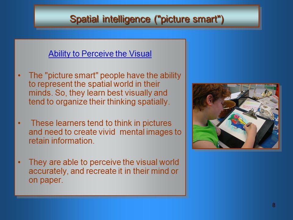 8 Spatial intelligence (