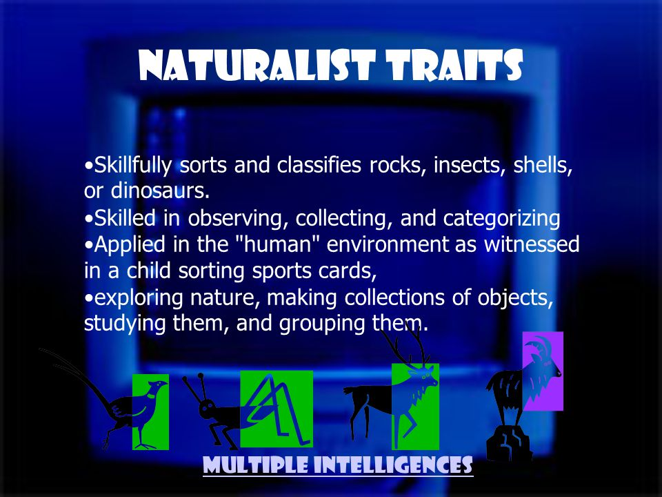 Naturalist Defined Someone who is nature-smart.