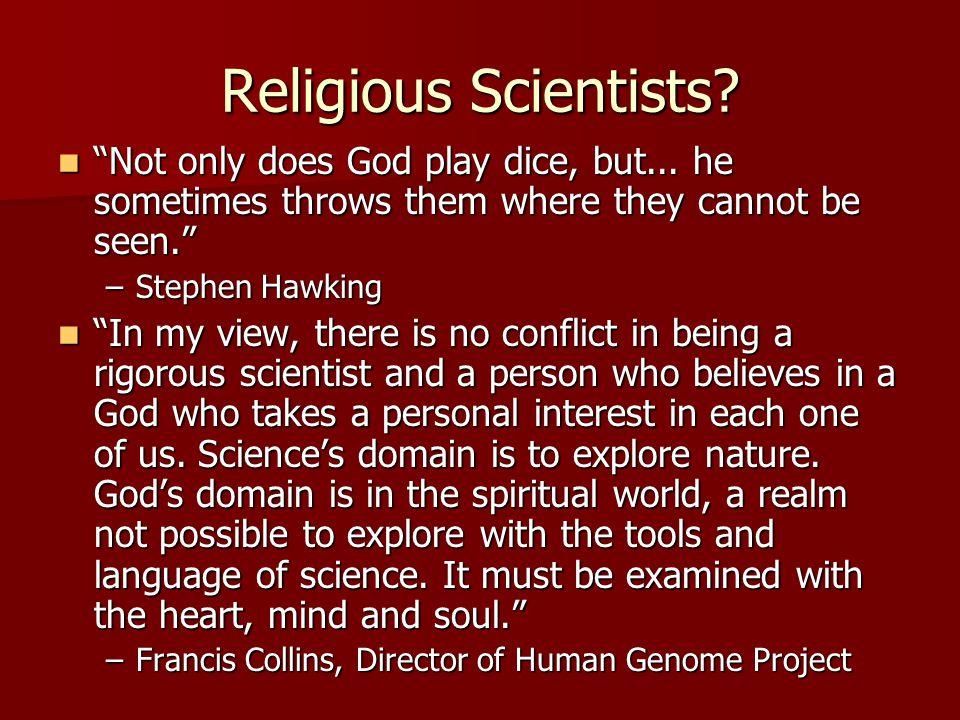 Religious Scientists.