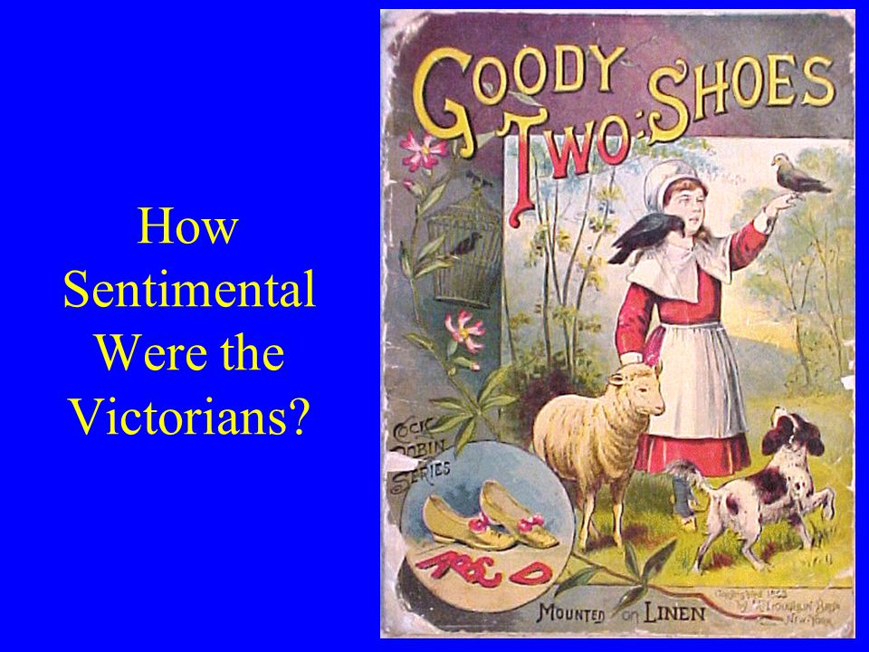 How Sentimental Were the Victorians
