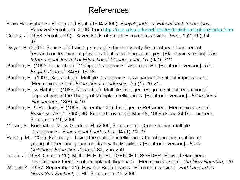 Brain Hemispheres: Fiction and Fact. (1994-2006).