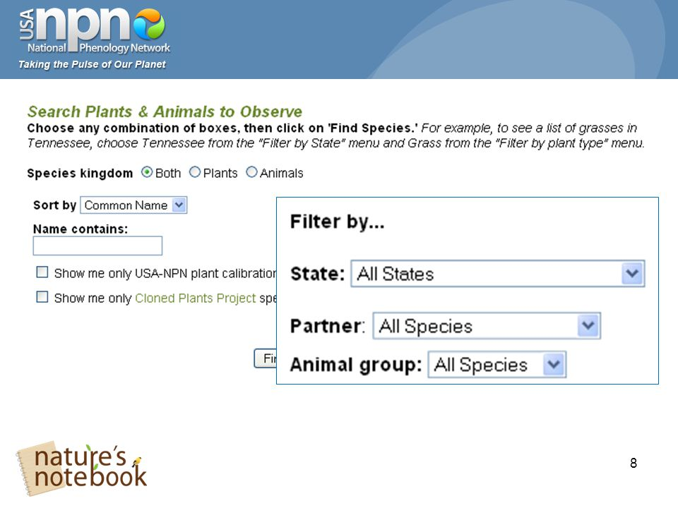 29 What if the plant or animal I want to monitor is not on the list?