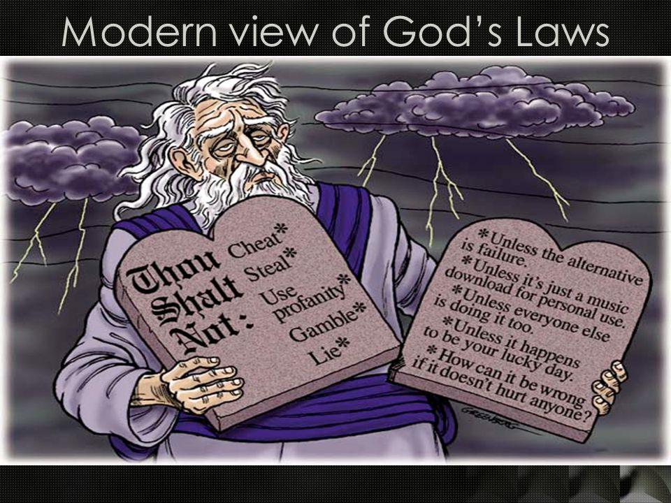 Modern view of God's Laws