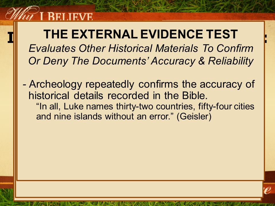 I Believe The Bible Is God's Word: Examine The Evidence Only Two Options Exist… – God Had Nothing To Do With This Book.