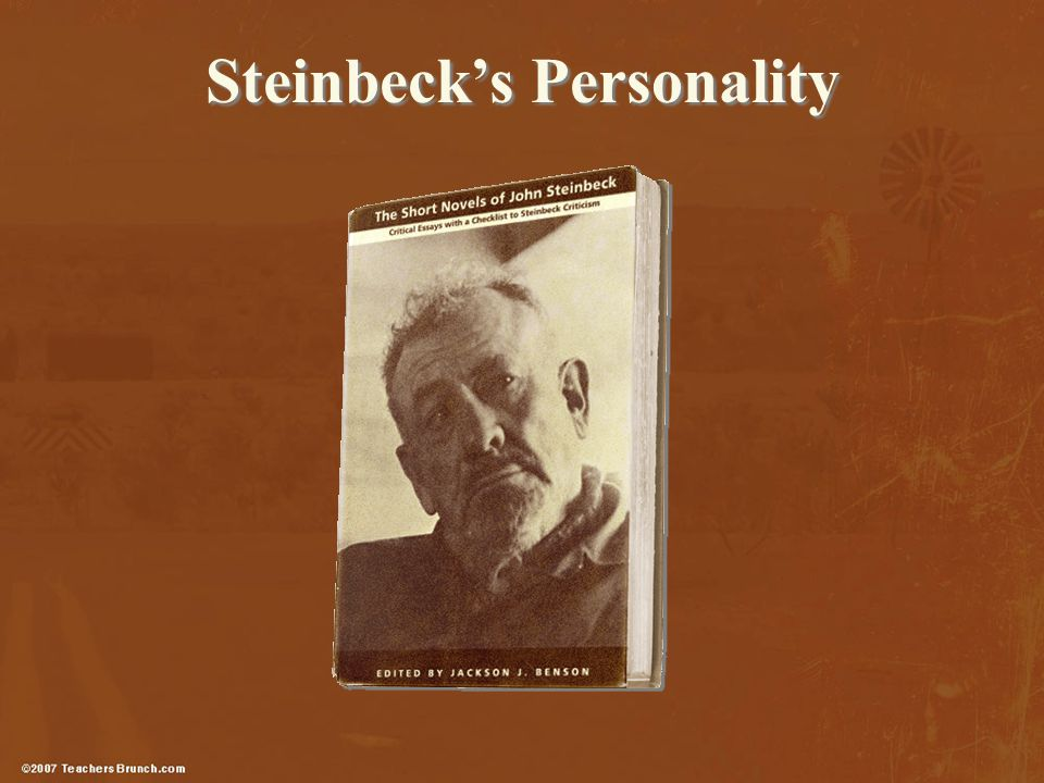 Steinbeck's Personality